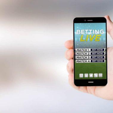 Live bets - mobiltelefon med live sports betting