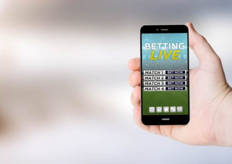 Live bets - mobiltelefon med live sports betting