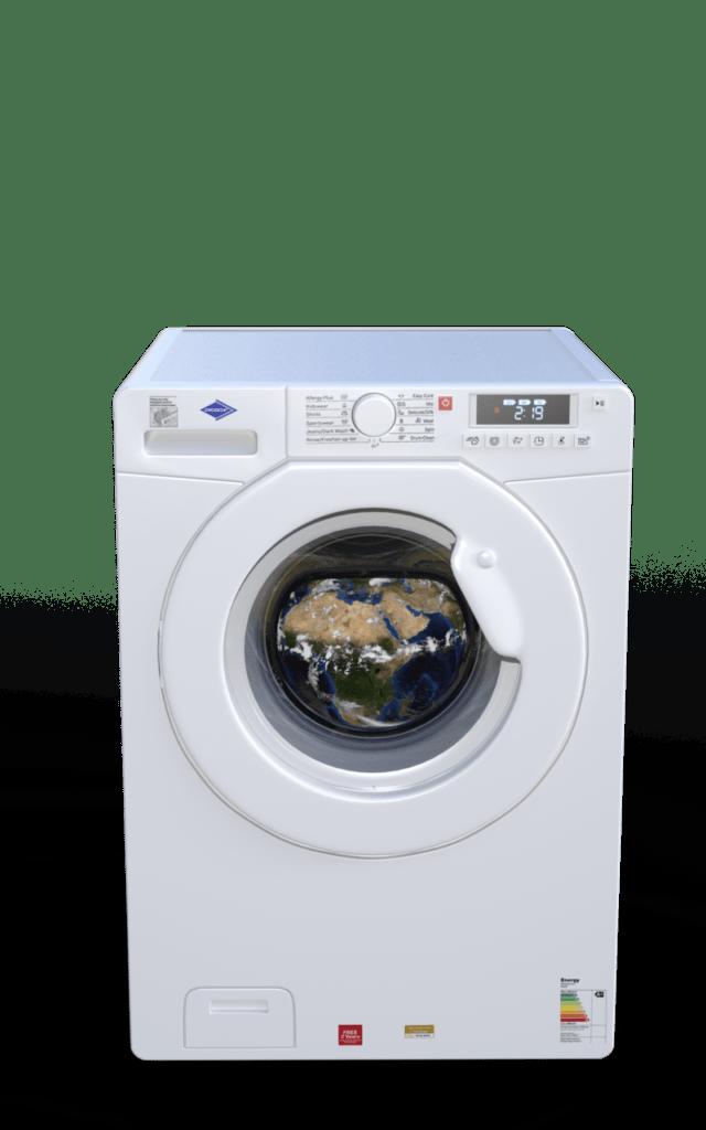 Vaskemaskine med energimærke